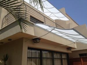סוככים מעוצבים למרפסת הבית