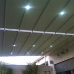 פרגולה חשמלית בתוספת תאורת לד פנטהאוז ברמת אביב
